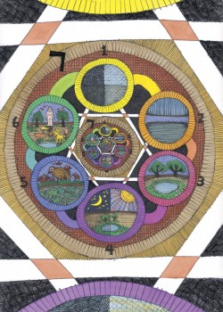 7days David Friedman Kabbalah Art