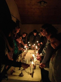 Hanukah Candle Lighting 2012