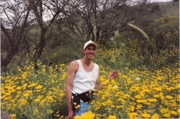 Hiking near Tsfat, Israel