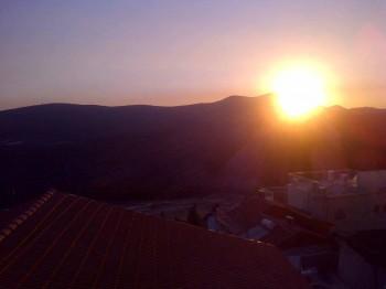 Tzfat sunset
