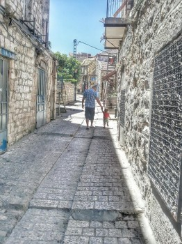 Relief in Tzfat