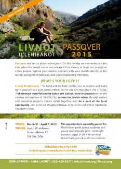 Passover-Flyer